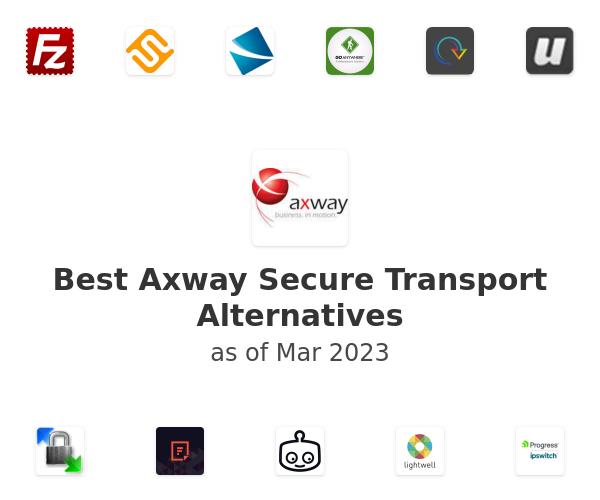 Best Axway Secure Transport Alternatives