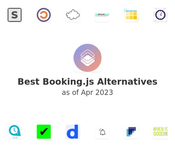 Best Booking.js Alternatives