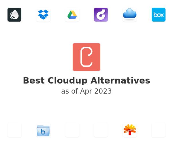 Best Cloudup Alternatives