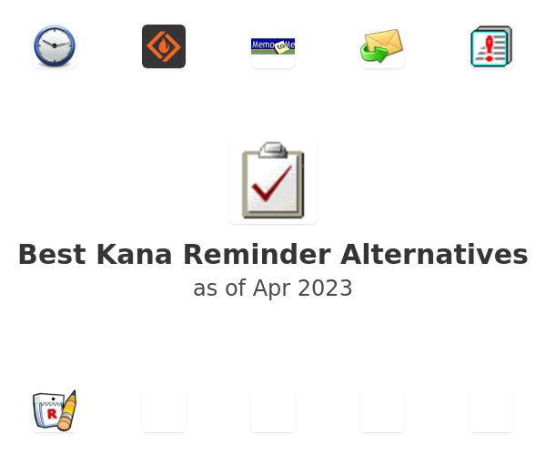 Best Kana Reminder Alternatives