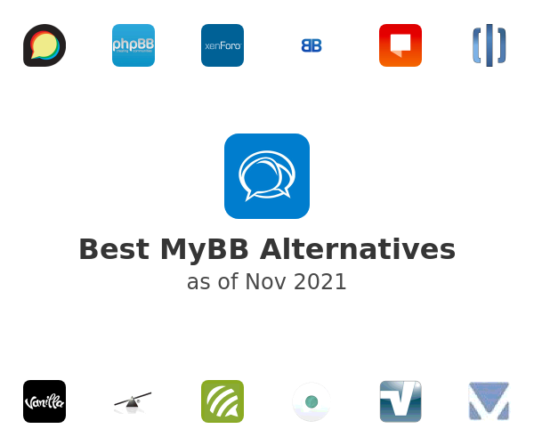 Best MyBB Alternatives