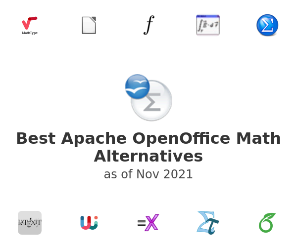 Best Apache OpenOffice Math Alternatives