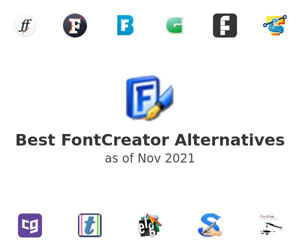 Best FontCreator Alternatives
