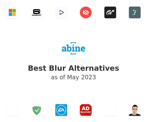 Best Blur Alternatives