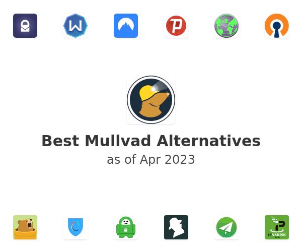 Best Mullvad Alternatives