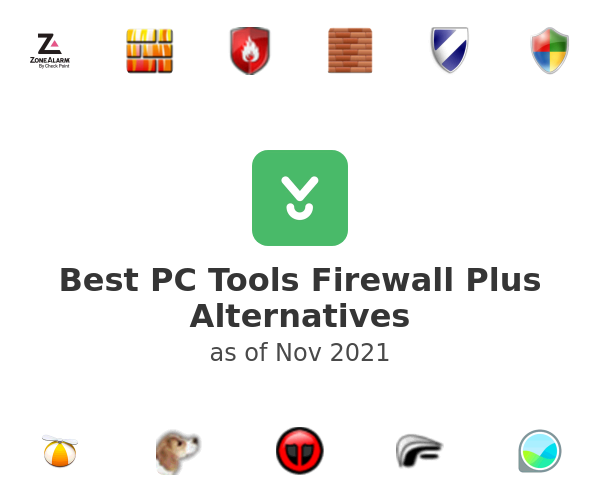 Best PC Tools Firewall Plus Alternatives