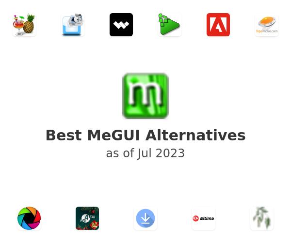 Best MeGUI Alternatives