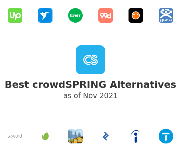 Best crowdSPRING Alternatives