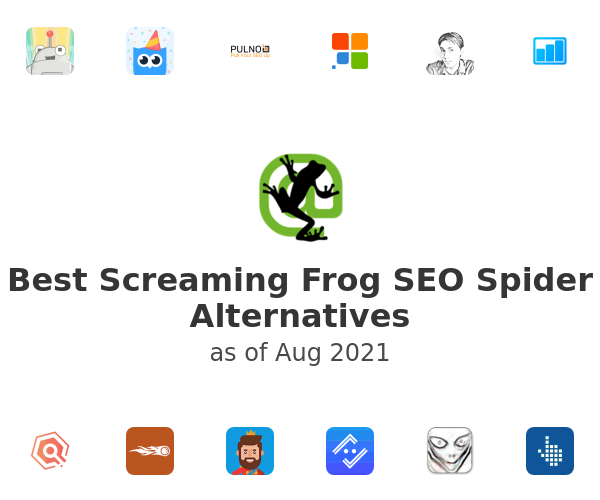 Best Screaming Frog SEO Spider Alternatives