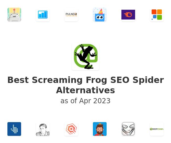 Best Screaming Frog SEO Spider Alternatives