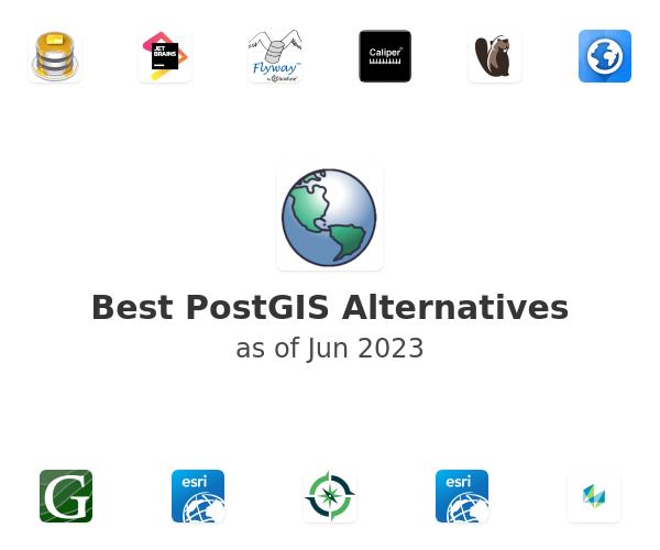 Best PostGIS Alternatives