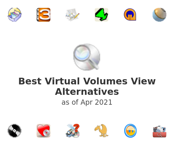 Best Virtual Volumes View Alternatives