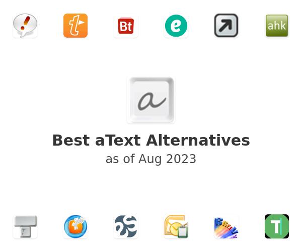 Best aText Alternatives
