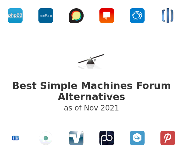 Best Simple Machines Forum Alternatives