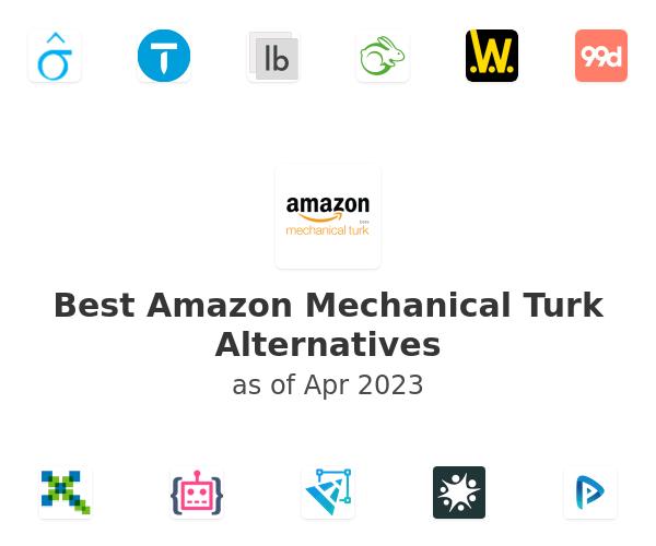 Best Amazon Mechanical Turk Alternatives