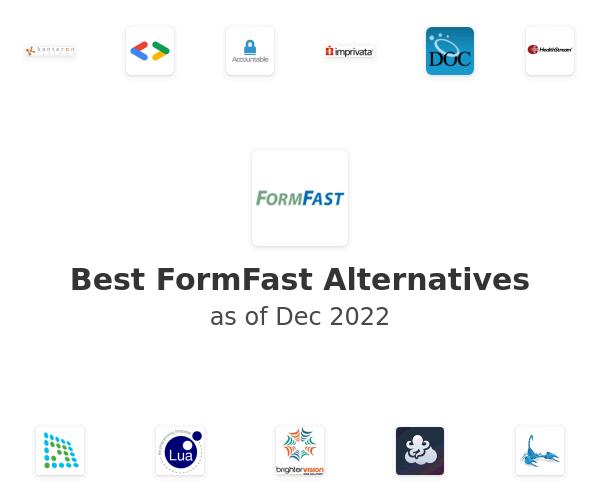 Best FormFast Alternatives