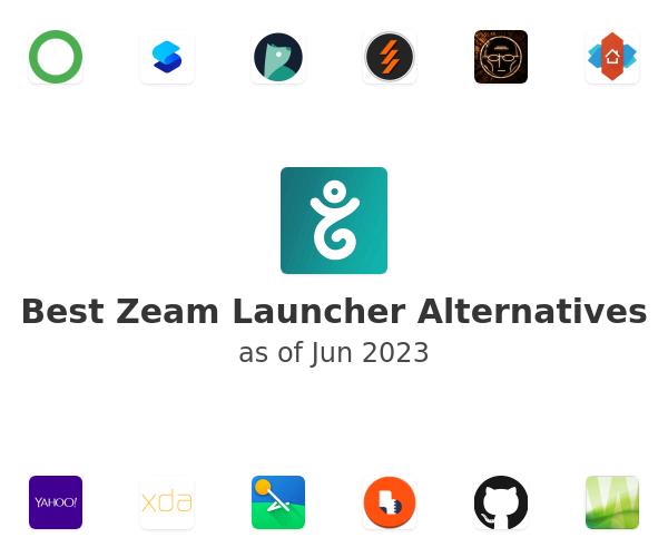Best Zeam Launcher Alternatives