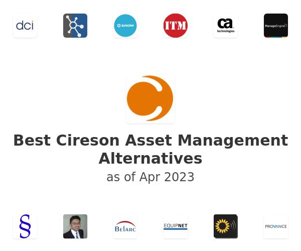 Best Cireson Asset Management Alternatives