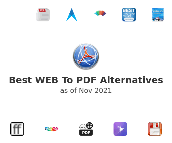 Best WEB To PDF Alternatives
