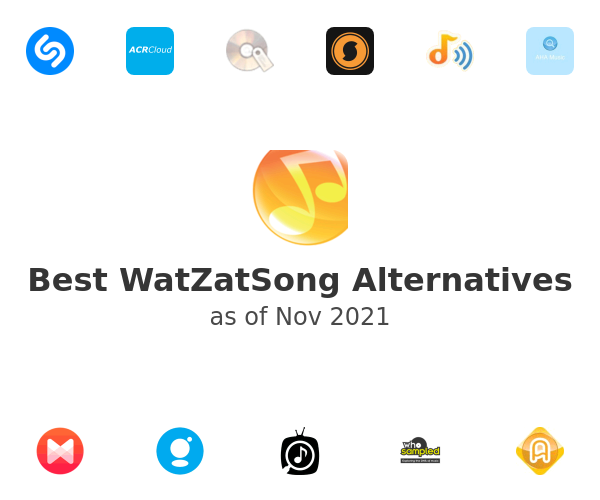 Best WatZatSong Alternatives