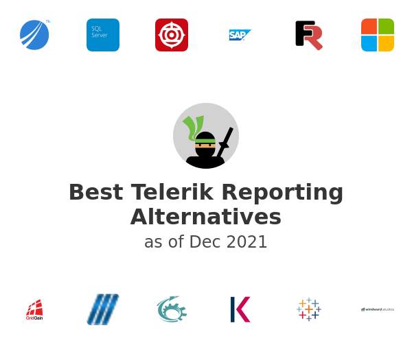 Best Telerik Reporting Alternatives