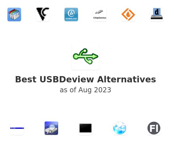 Best USBDeview Alternatives