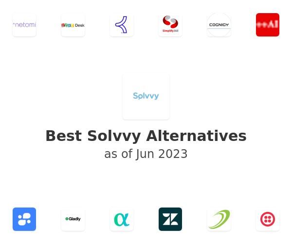 Best Solvvy Alternatives