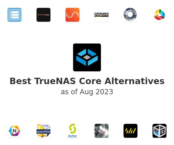 Best FreeNAS Alternatives