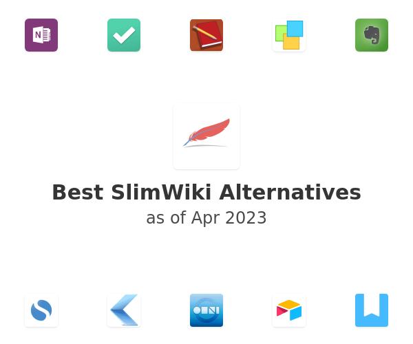 Best SlimWiki Alternatives