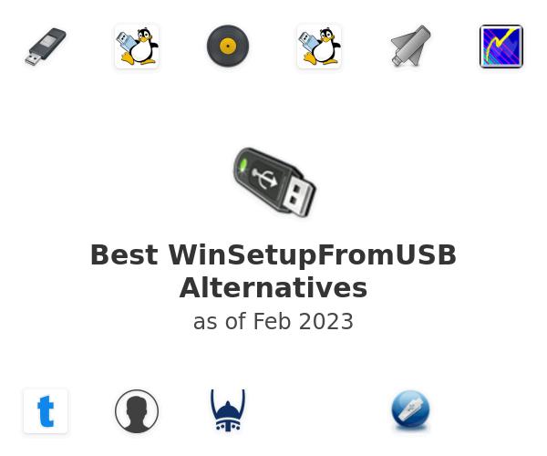 Best WinSetupFromUSB Alternatives