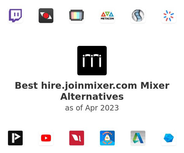 Best Mixer Alternatives