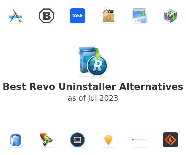 Best Revo Uninstaller Alternatives