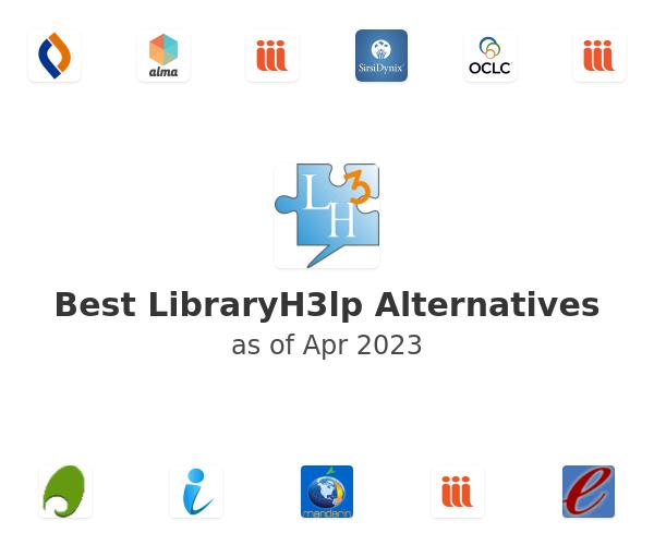 Best LibraryH3lp Alternatives