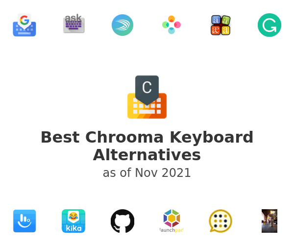 Best Chrooma Keyboard Alternatives