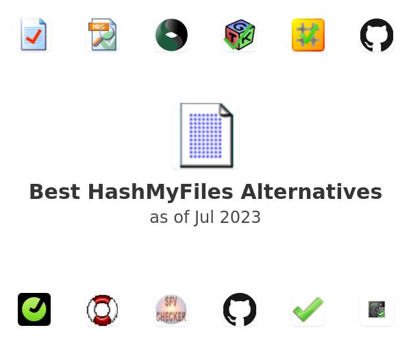 Best HashMyFiles Alternatives