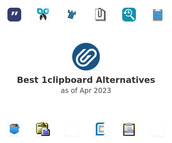 Best 1clipboard Alternatives
