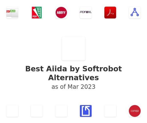 Best Aiida by Softrobot Alternatives