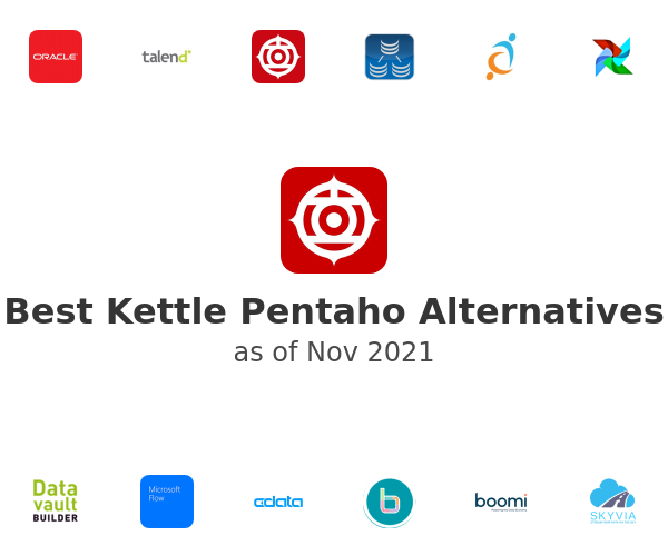 Best Kettle Pentaho Alternatives