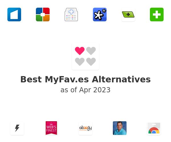 Best MyFav.es Alternatives