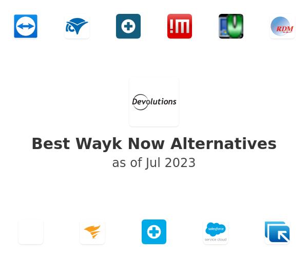 Best Wayk Now Alternatives