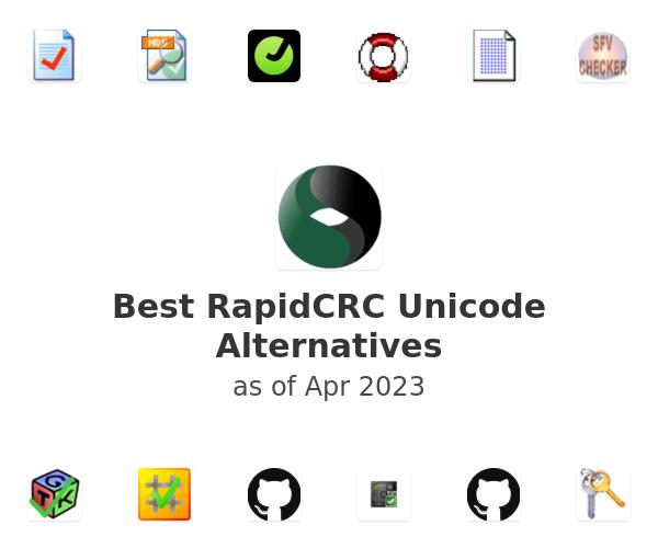 Best RapidCRC Unicode Alternatives