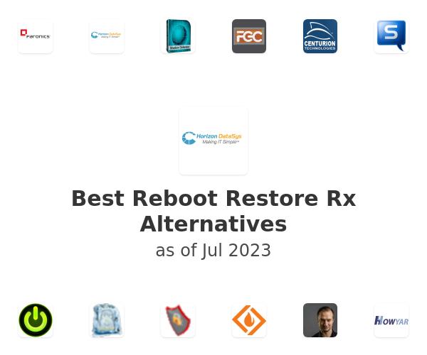 Best Reboot Restore Rx Alternatives