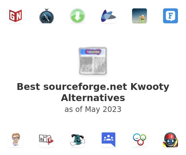 Best sourceforge.net Kwooty Alternatives