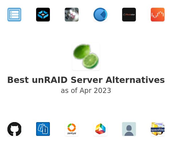Best unRAID Server Alternatives