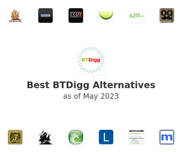 Best BTDigg Alternatives