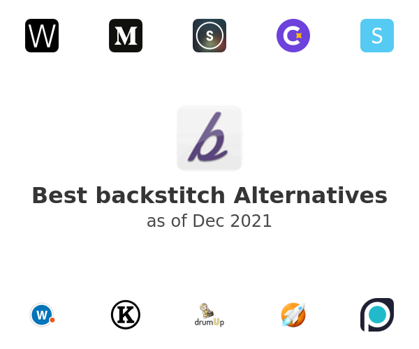 Best backstitch Alternatives