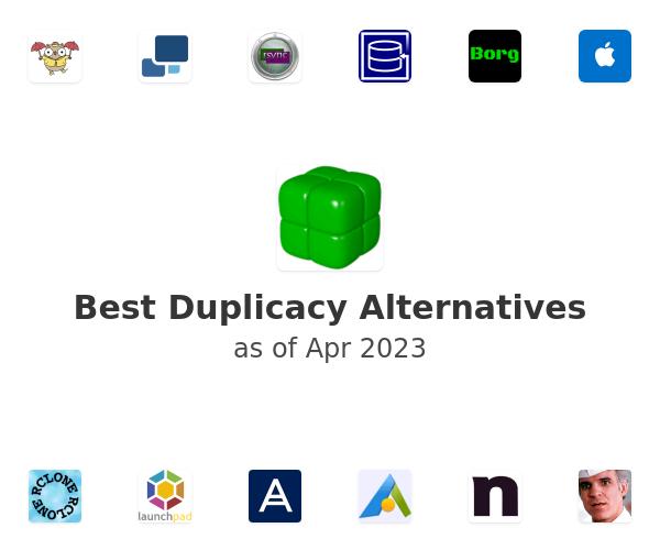 Best Duplicacy Alternatives