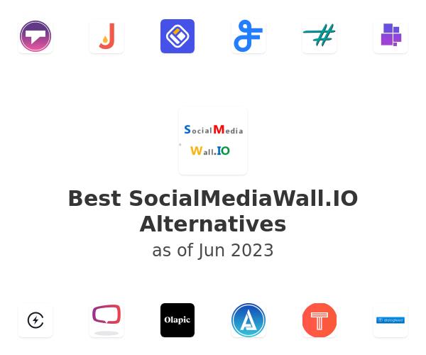 Best SocialMediaWall.IO Alternatives