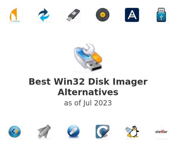 Best Win32 Disk Imager Alternatives