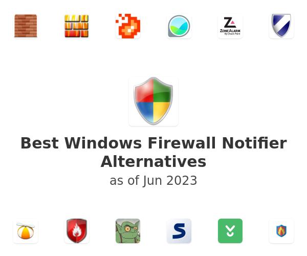 Best Windows Firewall Notifier Alternatives